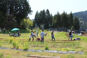 くらなび農園開園式 016